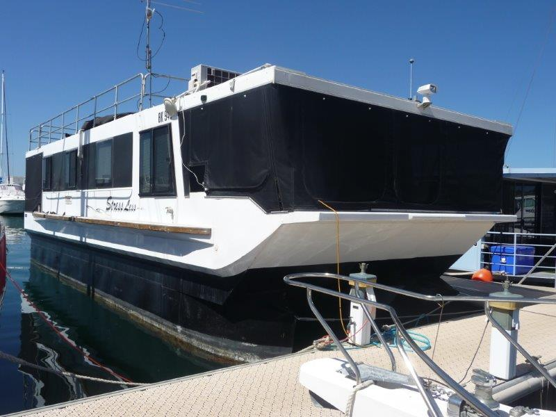 REF 002 Stress Less Aluminium house boat for sale