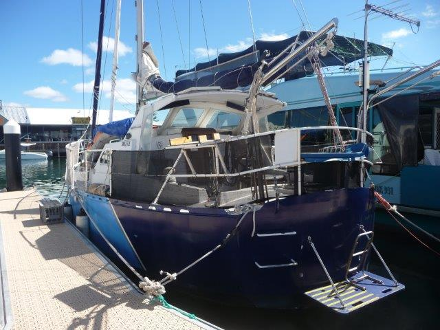 REF 010 11.2m Steel Pugh design yacht for sale Western Australia