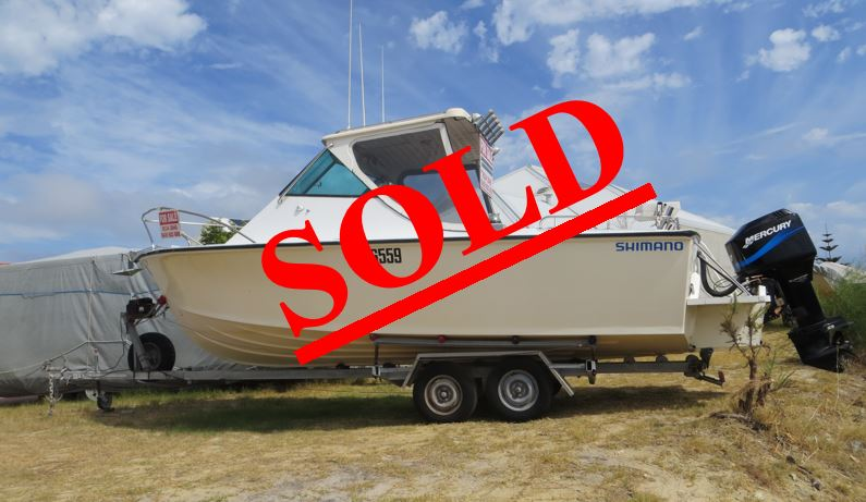 Chivers Boat Sold